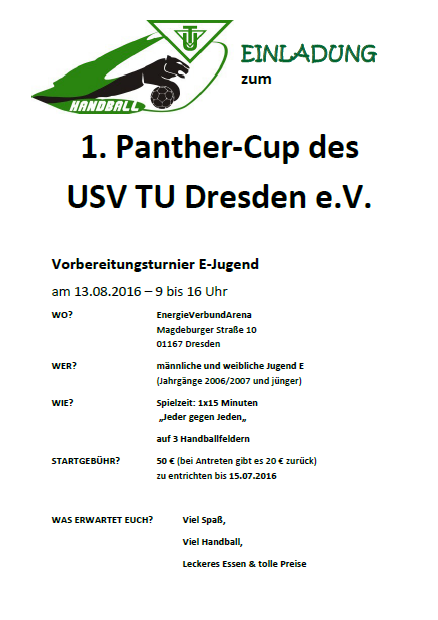Panther-Cup 2016